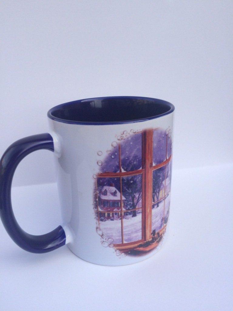 Чашка с рисунком фото 1