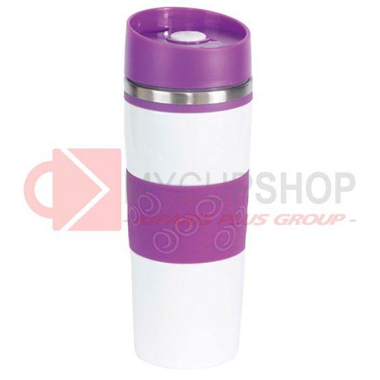 Термокружка 'Arabicа' фиолетовая, 400 мл