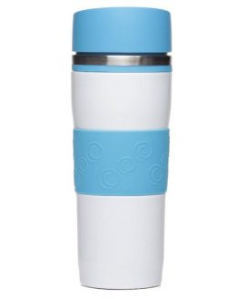 Термокружка 'Arabicа' голубая, 400 мл