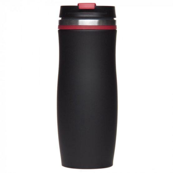 Термокружка 'Dark Crema' красная, 400 мл