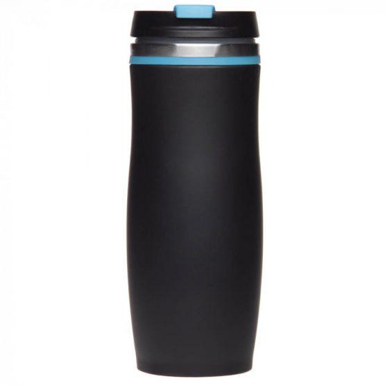 Термокружка 'Dark Crema' голубая, 400 мл