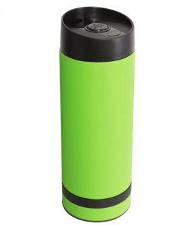 Кружка- термос зеленая 380 мл.