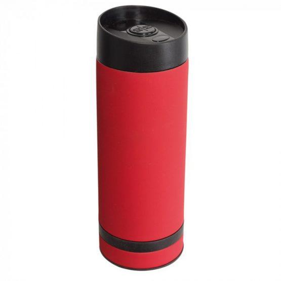 Кружка- термос красная  380 мл.