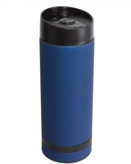 Кружка- термос синяя 380 мл.