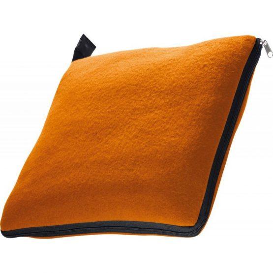"""Плед/подушка 2-в-1 """"Radcliff"""" оранжевый"""