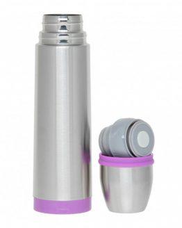Термос стальной 500 мл. фиолетовый