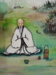 Роль монахов в чайной церемонии