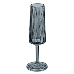 Бокал для шампанского, (прозрачно-серый)